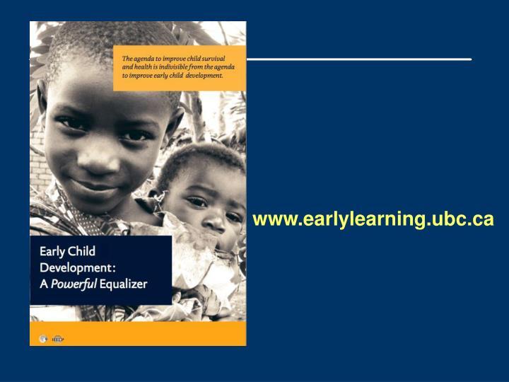 www.earlylearning.ubc.ca