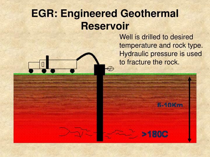 EGR: Engineered Geothermal Reservoir