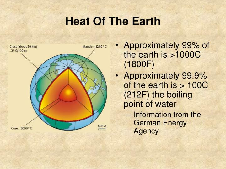 Heat Of The Earth