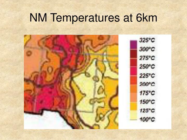 NM Temperatures at 6km