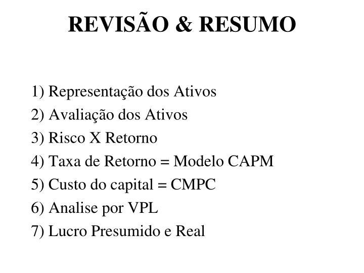 REVISÃO & RESUMO