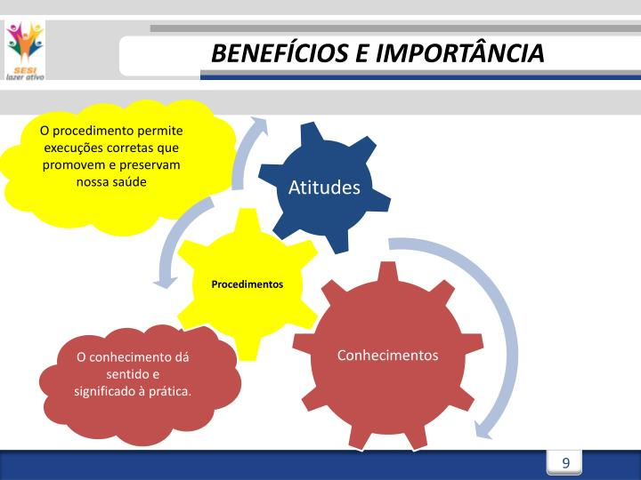 BENEFÍCIOS E IMPORTÂNCIA