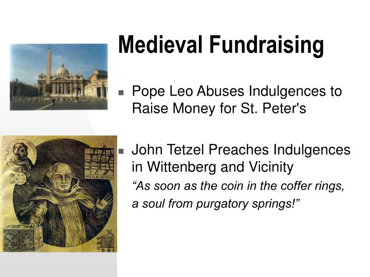 Medieval Fundraising