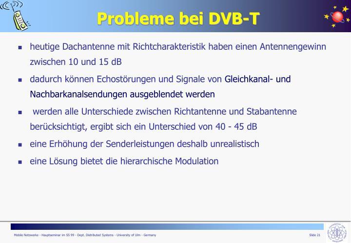 Probleme bei DVB-T