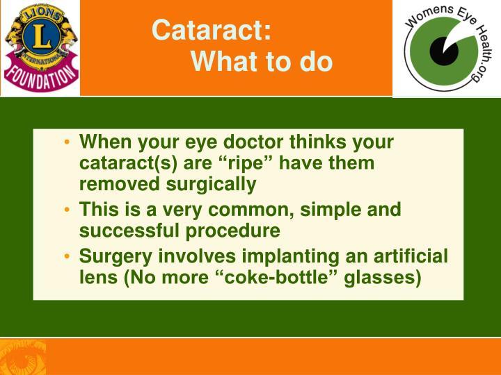 Cataract: