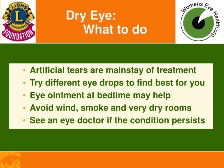 Dry Eye:
