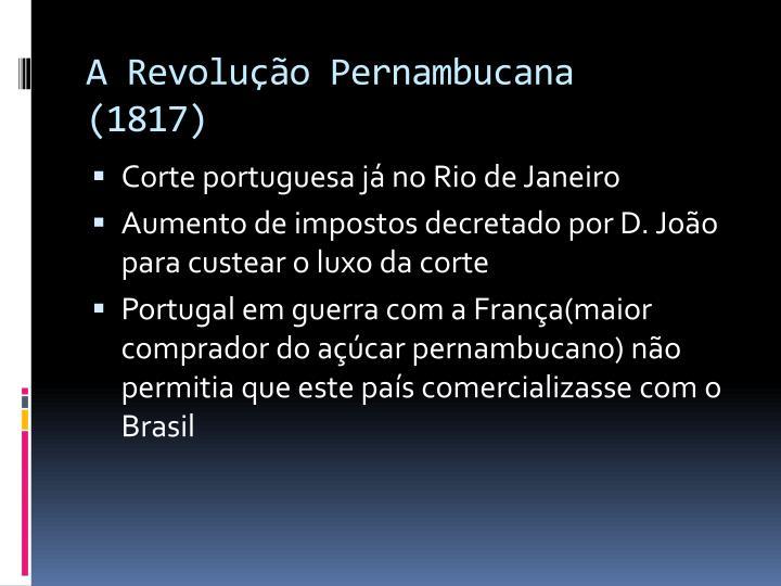 A Revolução Pernambucana