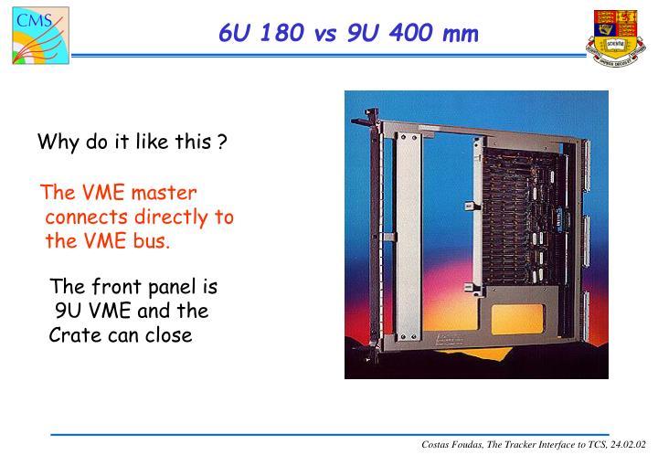 6U 180 vs 9U 400 mm