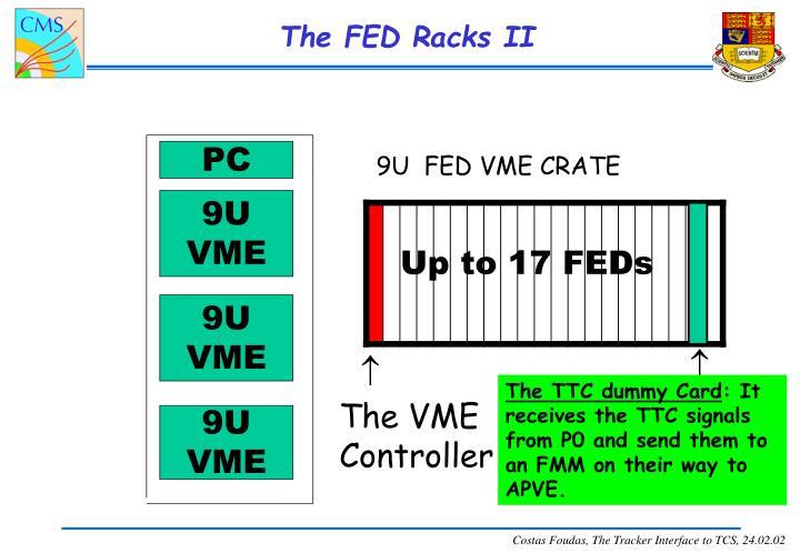 The FED Racks II