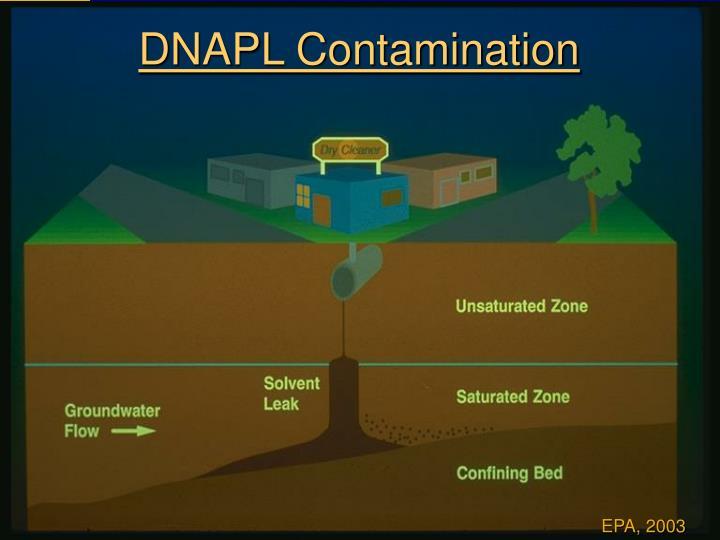 DNAPL Contamination