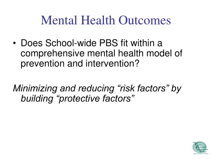 Mental Health Outcomes