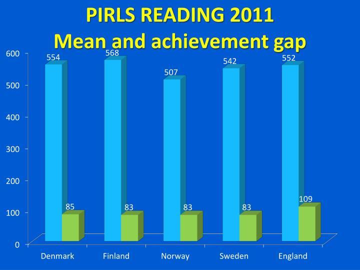PIRLS READING 2011