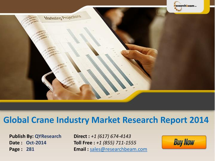 Global Crane Industry Market Research Report 2014