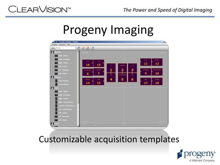 Progeny Imaging