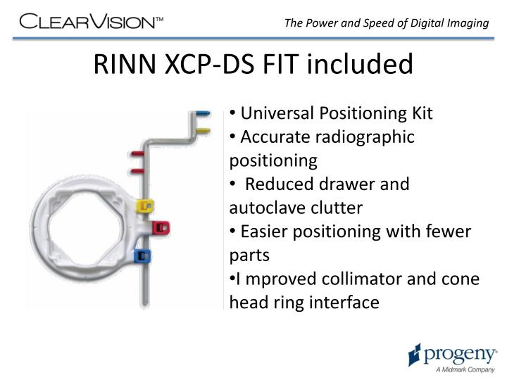 RINN XCP-DS FIT included