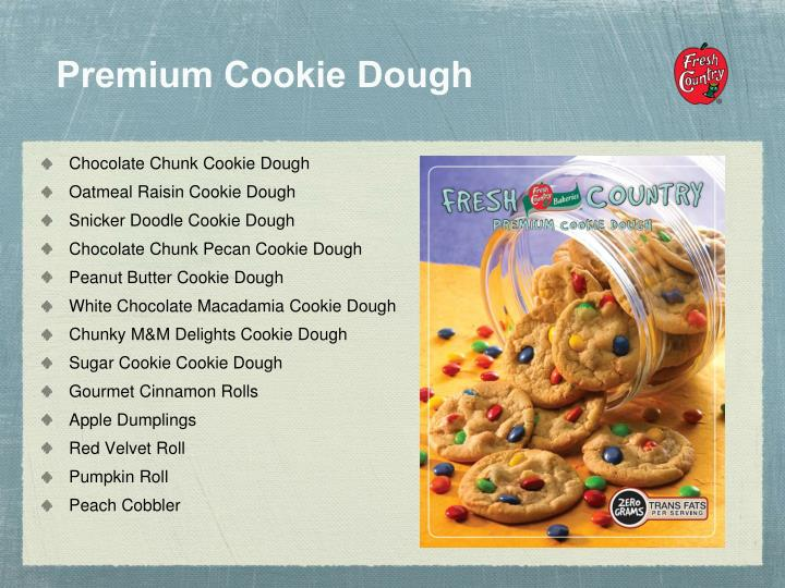 Premium Cookie Dough