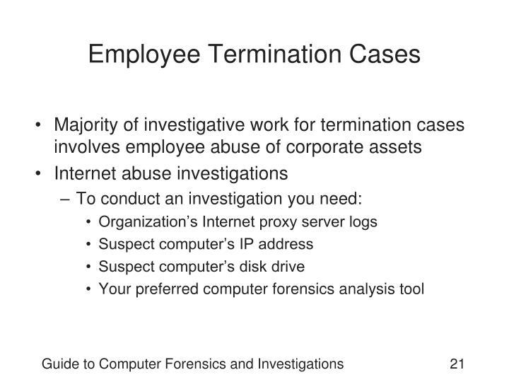Employee Termination Cases