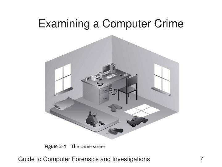 Examining a Computer Crime