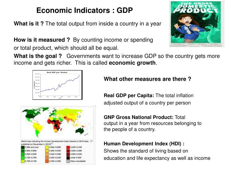 Economic Indicators : GDP