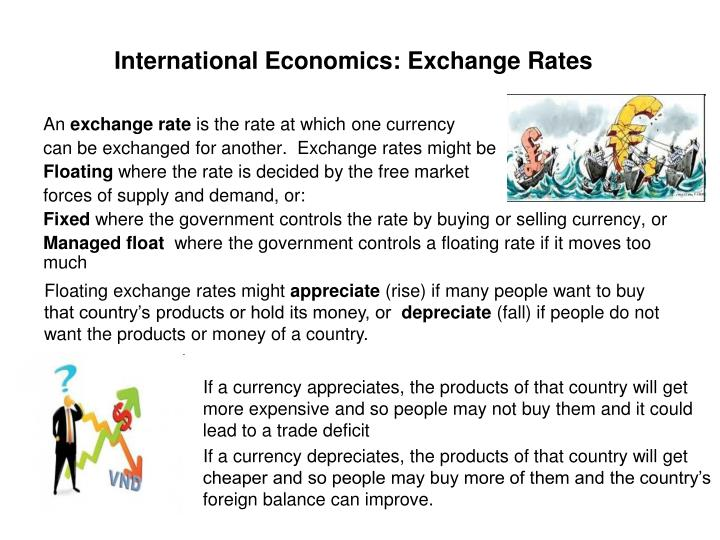 International Economics: Exchange Rates