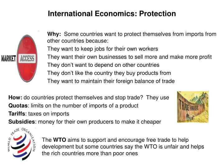 International Economics: Protection