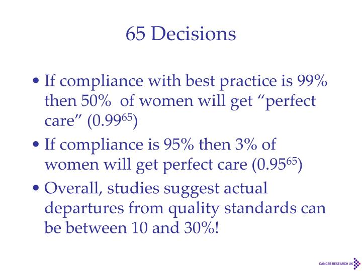 65 Decisions