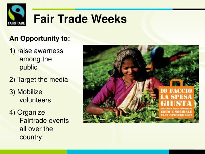 Fair Trade Weeks