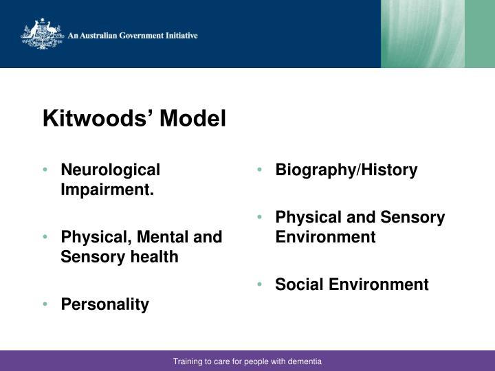 Neurological Impairment.