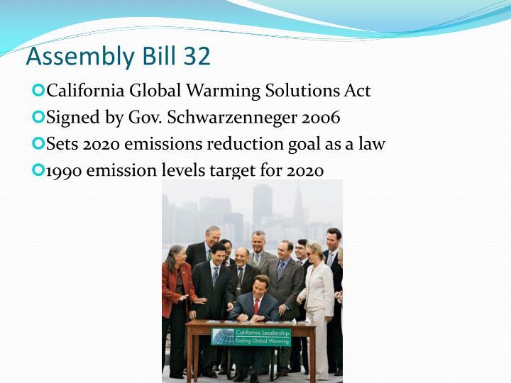 Assembly Bill 32