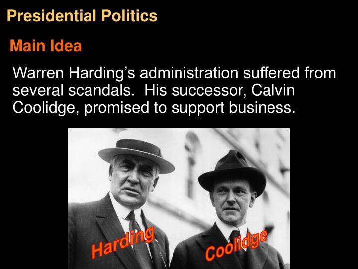 Presidential Politics