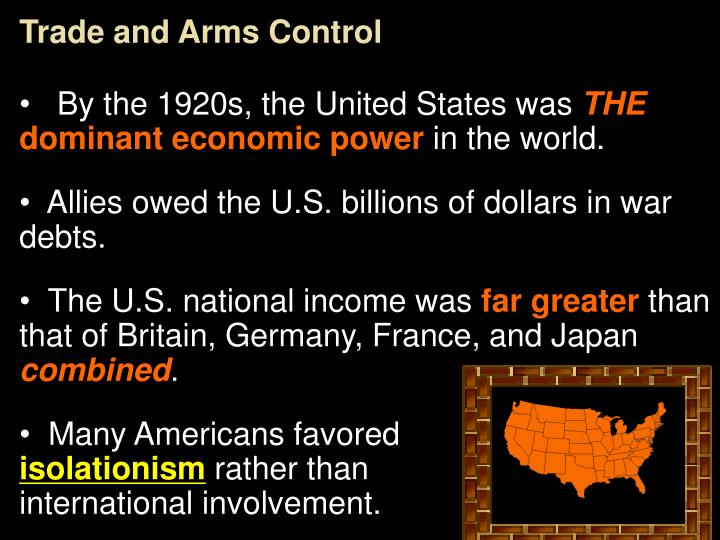 Trade and Arms Control