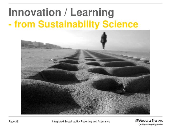 Innovation / Learning
