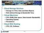 gsa iaas cloud computing environment