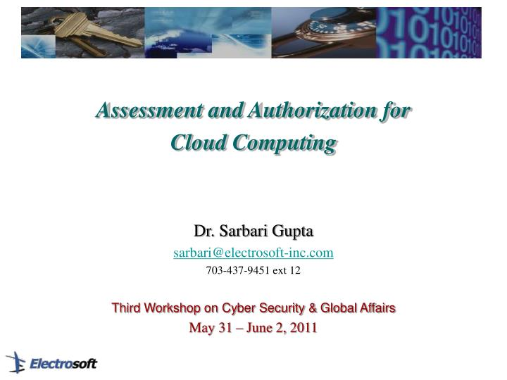 Assessment and Authorization for