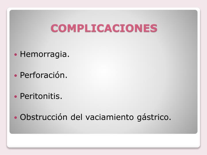 Hemorragia.