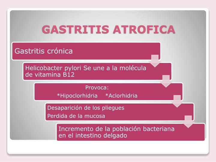 GASTRITIS ATROFICA