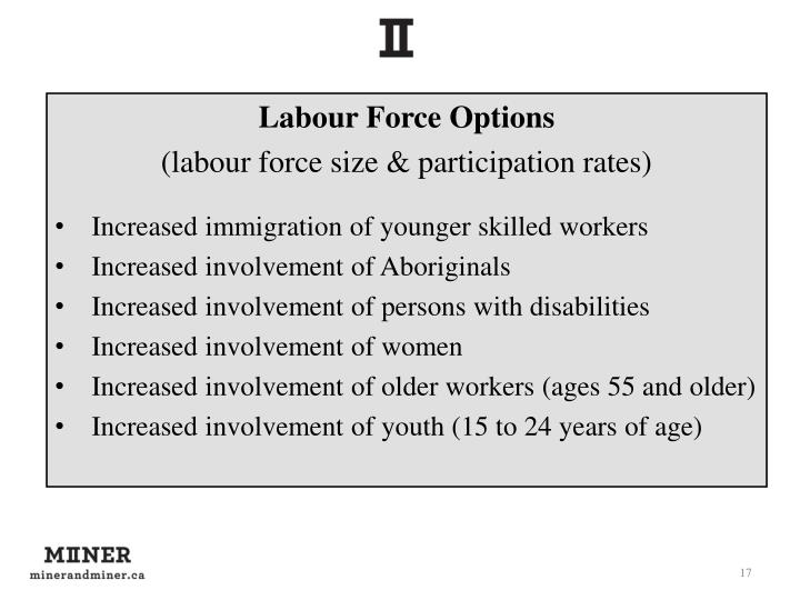 Labour Force Options