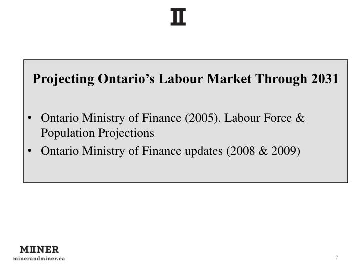 Projecting Ontario's Labour Market Through 2031