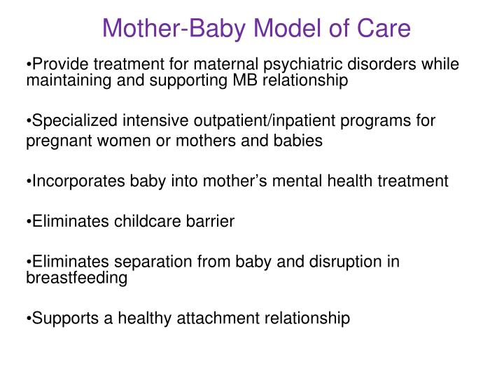 Mother-Baby Model of Care