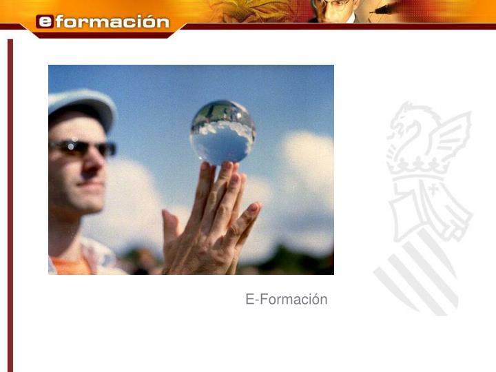 E-Formación