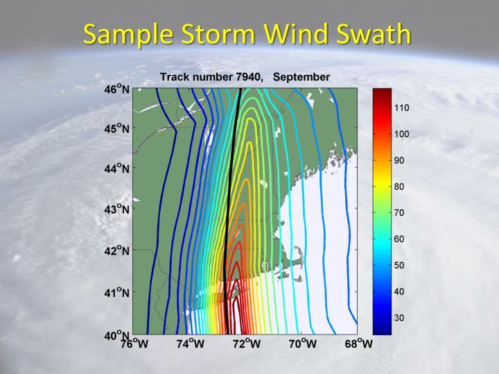 Sample Storm Wind Swath