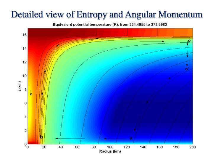Detailed view of Entropy and Angular Momentum