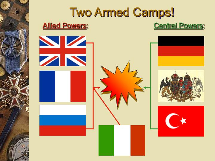 Two Armed Camps!