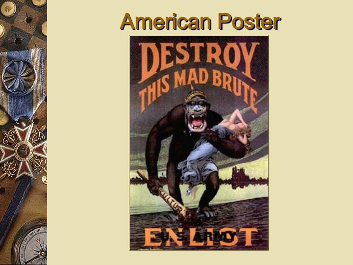 American Poster