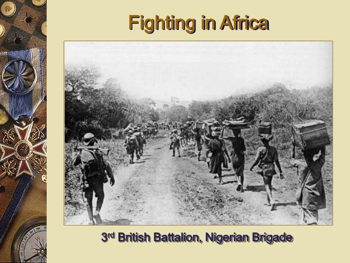 Fighting in Africa
