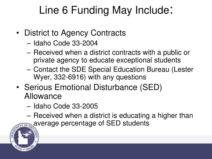 District to Agency Contracts
