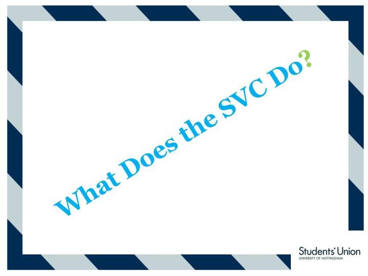 What Does the SVC Do