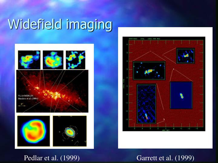 Widefield imaging