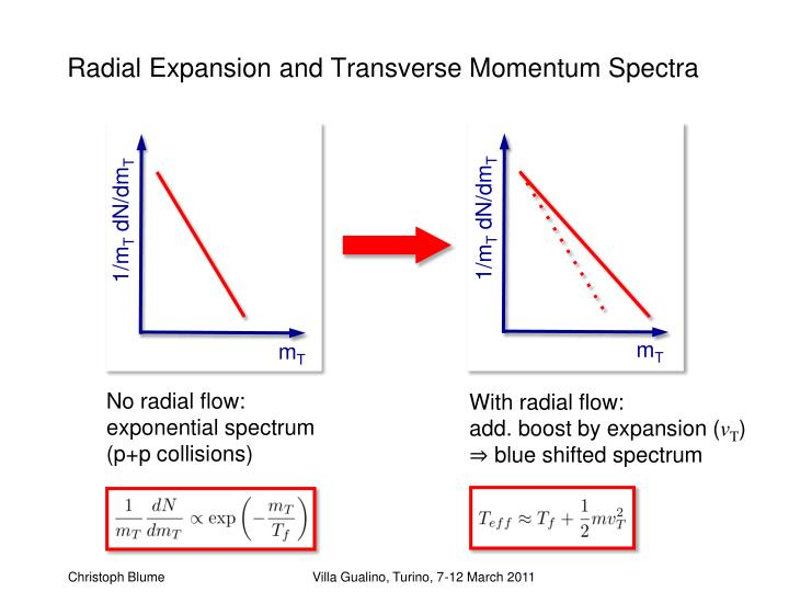 Radial Expansion and Transverse Momentum Spectra
