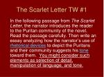the scarlet letter tw 11